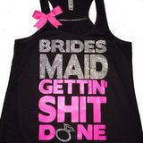 Bridesmaid Tank - Ruffles with Love - Sweating for the Wedding - Wedding Tank