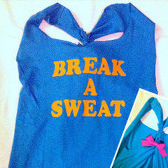 Break a Sweat Work-out Tank Top