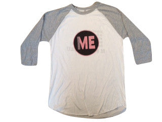 Logo Raglan -  Indestructible Me - Be Indestructible - by Ruffles with Love
