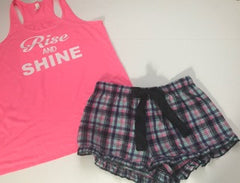 Rise and Shine- Pajama Set - Ruffles with Love - RWL - Love - Pajamas