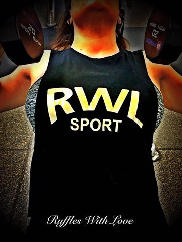 RWL Sport - Muscle Tank - Ruffles with Love
