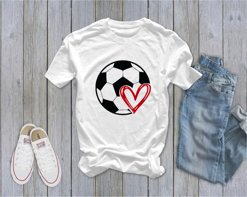 Soccer Tee - Ruffles with Love - Tee
