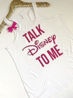 Talk Disney To Me - Ruffles with Love -RWL - Graphic Tee