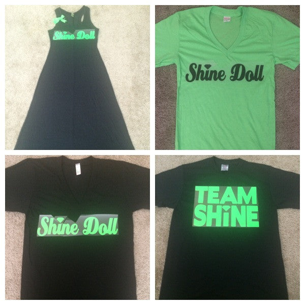 Team Shine Shirts and Dress - Ruffles with Love