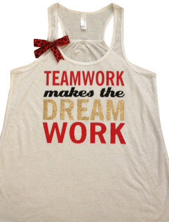 Teamwork Makes the Dream Work - Womens Fitness Clothing ...