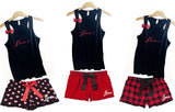Valentines Day Pajama Set - YOUTH Sizes - Ruffles with Love - RWL - Love - Pajamas