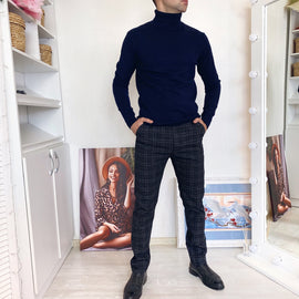 Thick Warm Slim Fit Turtleneck Sweater