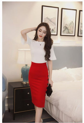 Chic Pencil Skirt