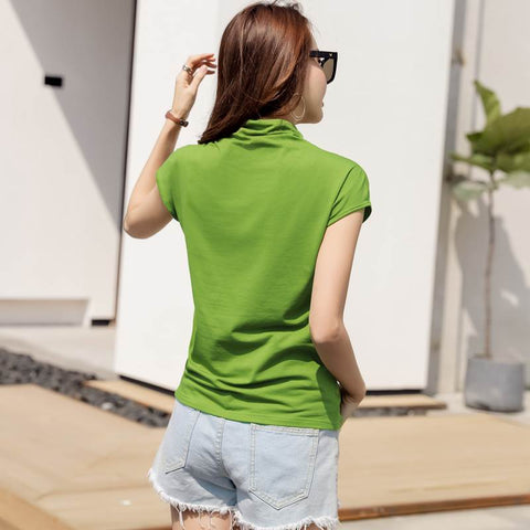 Summer Cotton Short Sleeve T Shirt