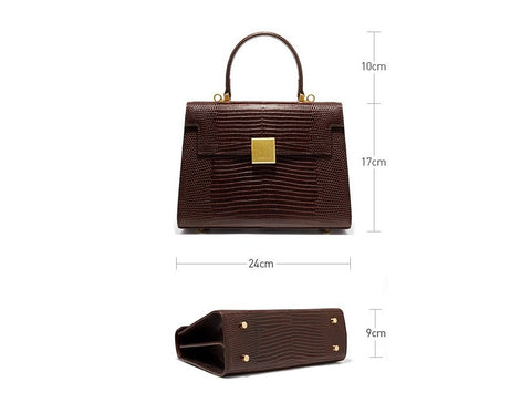 Retro Genuine Leather Handbag
