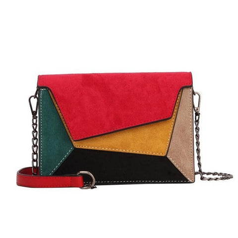 Funky Retro Matte Crossbody Messenger Bags