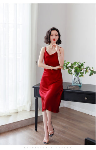 Backless Sleeveless Sensual Long Dress