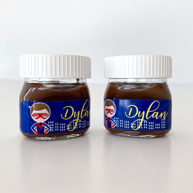 Mini nutella super heroes