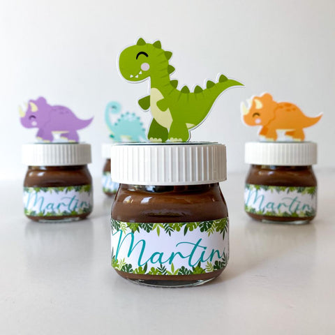 mini nutella dinosaurios