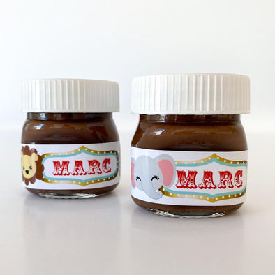 Mini nutella circo