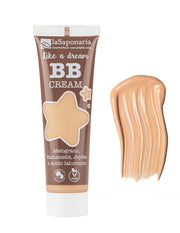 "BB cream viso ""like a dream"" n° 1 fair uniformante, radiosa e neutralizzante da 30 ml, per tutti i tipi di pelle - La Saponaria"