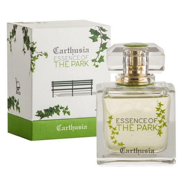 Profumo Essence of The Park Agrumato con Bergamotto, Mandarino e Muschio Bianco da 50ml per Lui e Lei, Carthusia