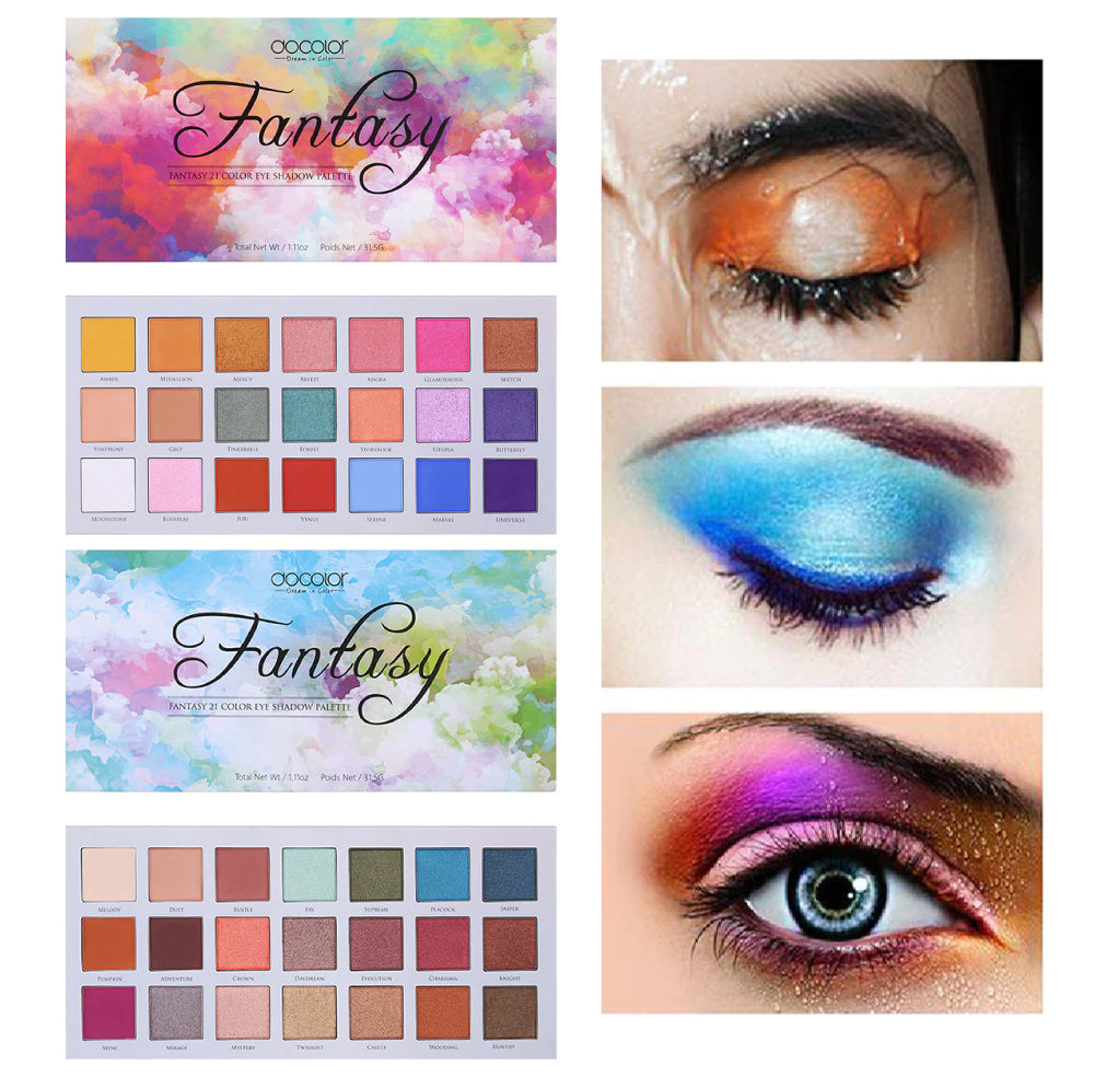 Fantasy 21 Colors Eyeshadow Palette