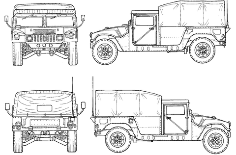 BIG MIKE'S MOTOR POOL — M998 HMMWV PARTS