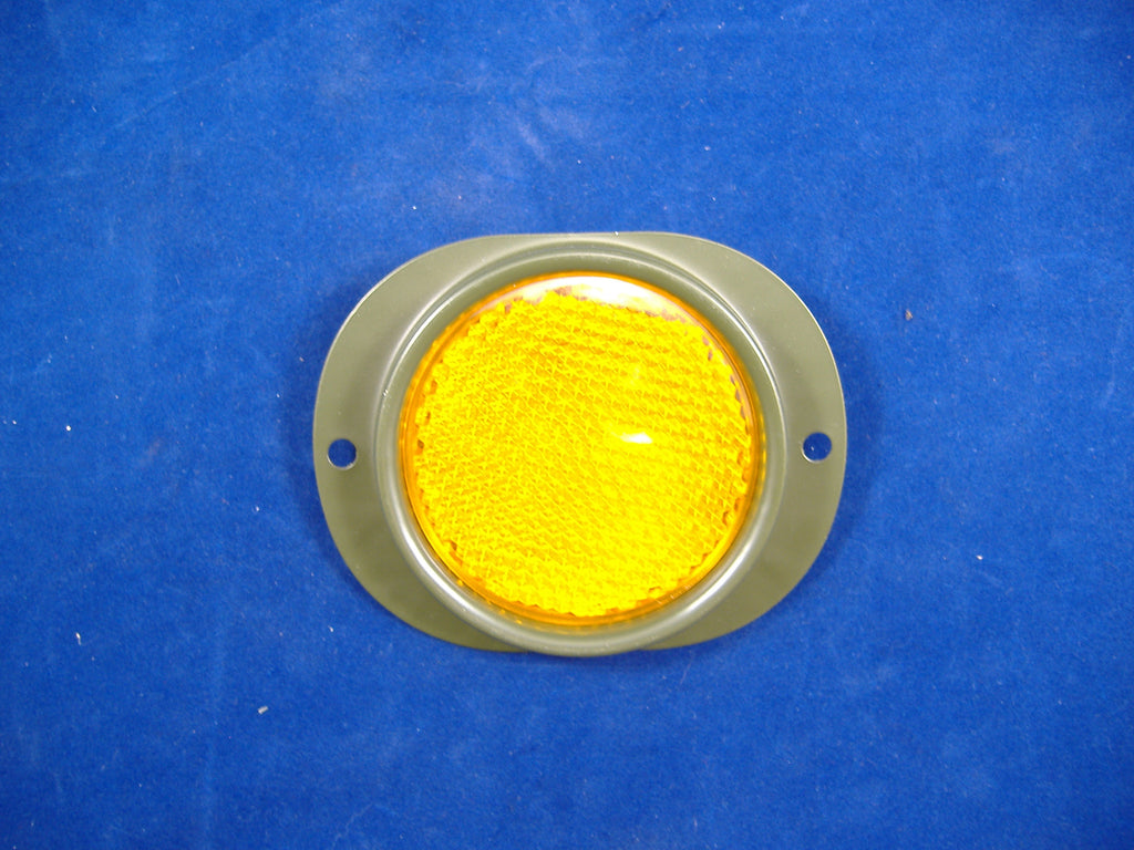 MILITARY AMBER REFLECTOR, M35A2 REFLECTOR, MILITARY TRUCK REFLECTOR, M813 REFLECTOR