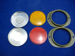 MILITARY TRUCK OR TRAILER REFLECTOR SET