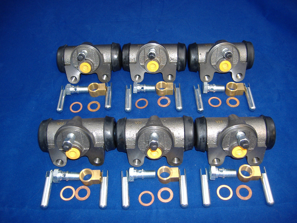 M35A2 WHEEL CYLINDER SET OF SIX # 7348976 NSN 2530002744511