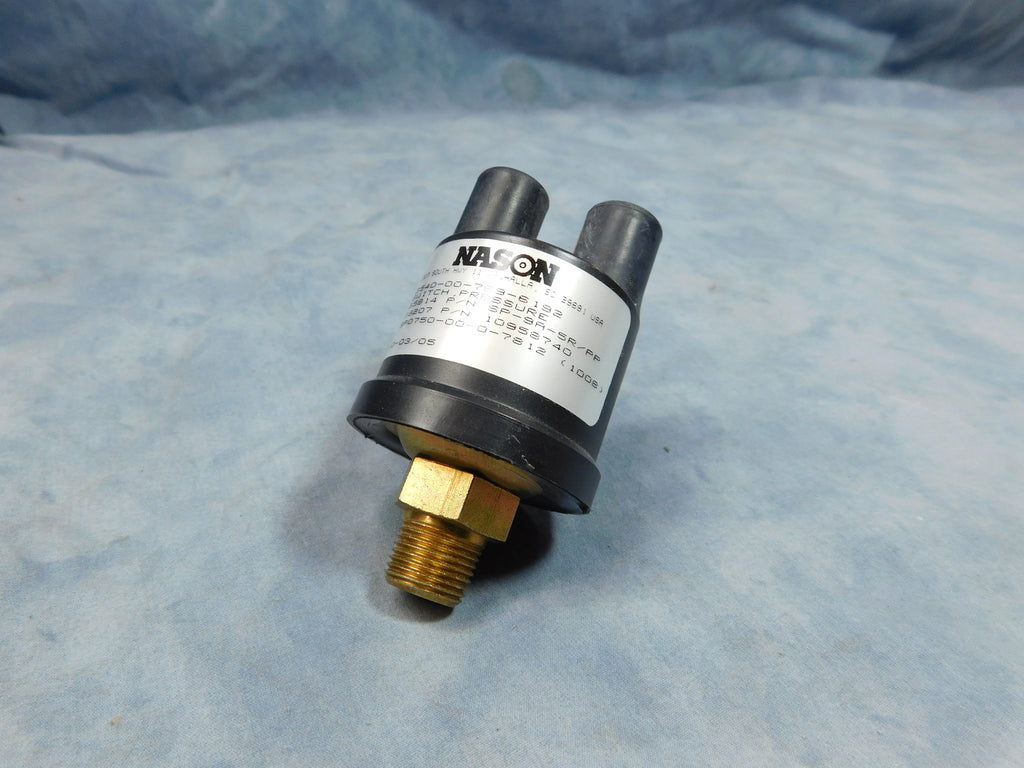 AIR OPERATED BRAKE SWITCH FOR M939 SERIES 5 TON TRUCKS.  THIS SWITCH CAN BE USED AS AN UPGRADE ON OLDER 5 TON AND 2.5 TON TRUCKS TO REPLACE THE FLUID SIDE BRAKE SWITCH. IT IS HOWEVER NOT A DIRECT REPLACEMENT AND WILL REQUIRE SOME MODIFICATION TO WORK.  PART # 11602160 NSN 2540-00-789-6192, 5930007896192, 7005, 7014-05, SP9A-5RPP