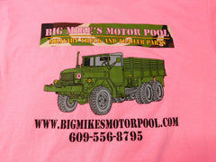 GENUINE BIG MIKE'S MOTOR POOL T-SHIRT