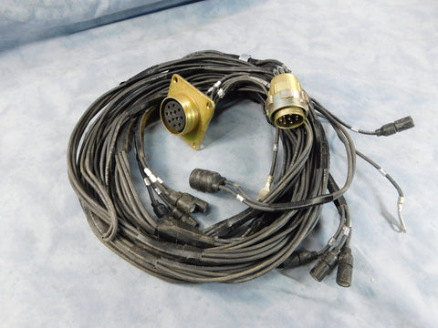 big mike s motor pool m35a2 parts military truck parts m35a2 rear wire harness 10896676