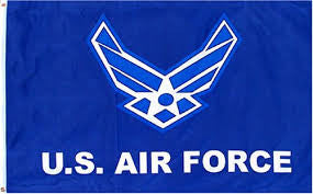 AIR FORCE 3'X5' FLAG