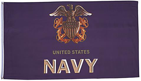 UNITED STATES NAVY 3'X5' FLAG