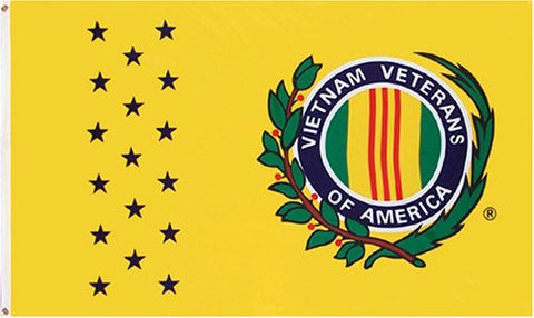 VIETNAM VETERANS OF AMERICA 3'X5' FLAG