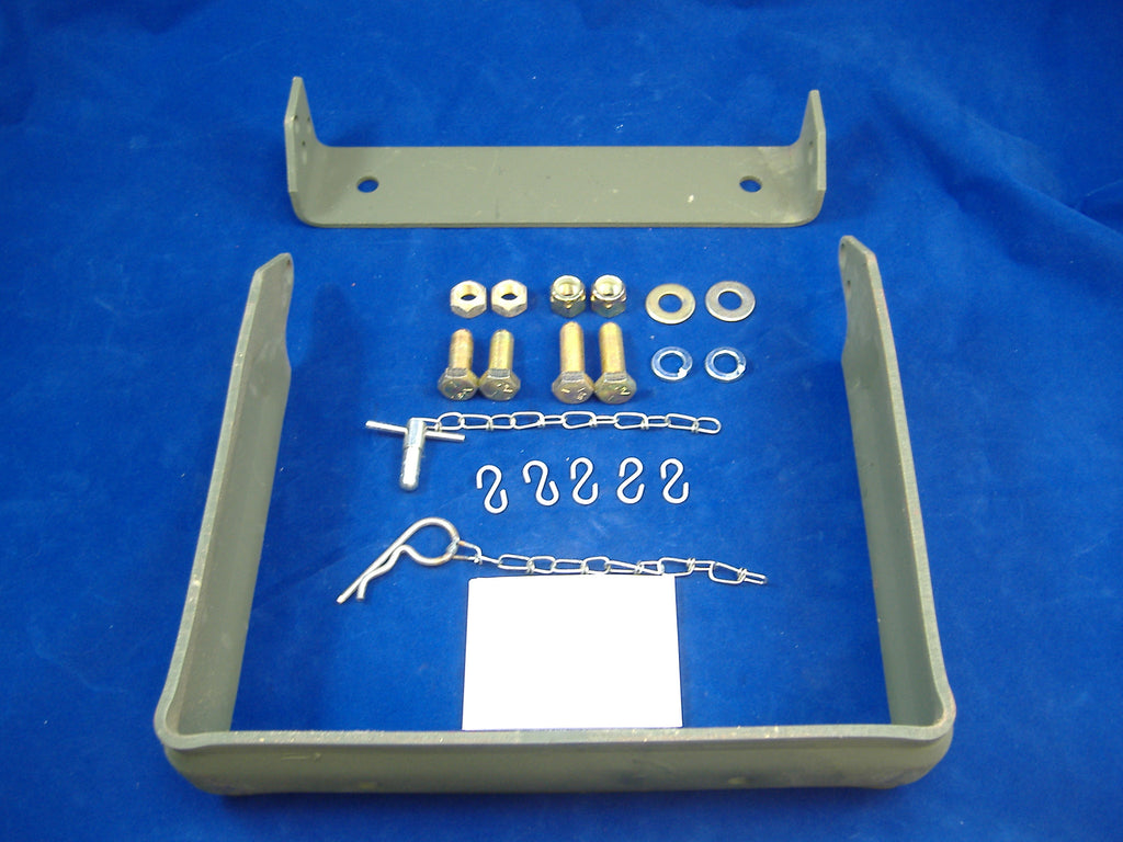 MILITARY FRONT BUMPER FOLDING STEP KIT, MILITARY FRONT BUMPER STEP KIT, M35A2 BUMPER STEP, 12300799. NSN 2540011491389