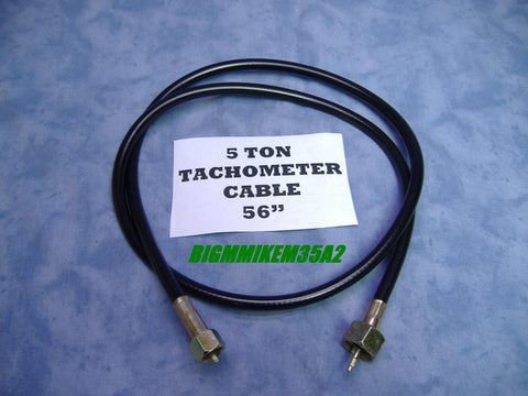 TACHOMETER CABLE FOR M809 SERIES 5 TON TRUCKS w/ CUMMINS ENGINE, MS51071-4