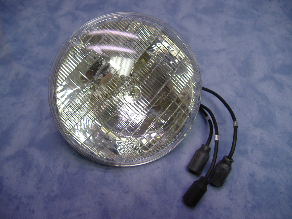 MILITARY 24 VOLT 28 VOLT HEAD LIGHT HEADLIGHT HEADLAMP HEAD LAMP M35A2 HEAD LIGHT M54 M52 M813 M35A3 M54 M818 M923 M931 M925 M939 AURORA CORD AND CABLE COMPANY # 8741491 NSN 6240009663831, MS18008-4863, 4863-C