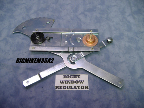 WINDOW REGULATOR, RIGHT SIDE - 7373290 ALL 2.5 TON AND 5 TON