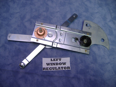 WINDOW REGULATOR, LEFT SIDE - 7373289 ALL 2.5 TON AND 5 TON