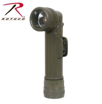 Genuine G.I. Anglehead Flashlight - Olive Drab