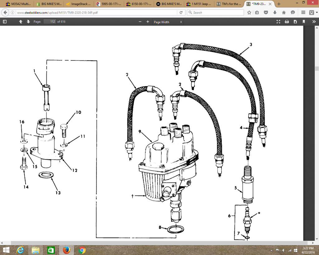 M151 Wiring Diagram Free For You G838 Owner39s Club O View Topic Big Mike S Motor Pool Spark Plug Wire 11660569 2 Rh Bigmikesmotorpool Com Electrical Diagrams Pdf Harness