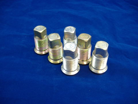 LEFT HAND INNER LUG NUT FOR DUAL REAR WHEELS, SET OF SIX, M35-M54-M809-M939 MS53068-1