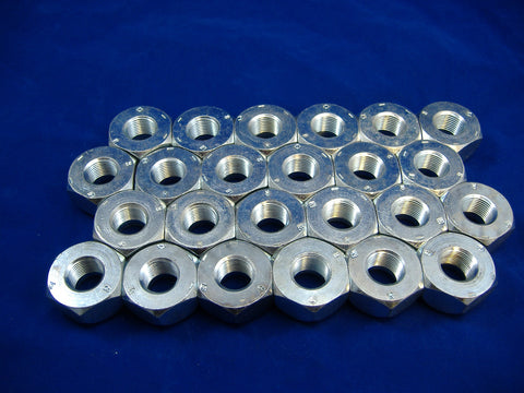 LEFT HAND LUG NUT FOR FRONT WHEEL OR SINGLE WHEEL, SET OF TWENTY FOUR, M35-M54-M809-M939 MS51983-1