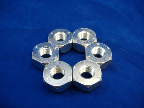 LEFT HAND LUG NUT FOR FRONT WHEEL OR SINGLE WHEEL, SET OF SIX, M35-M54-M809-M939 MS51983-1