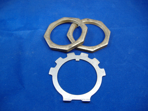 SPINDLE NUT AND LOCK WASHER SET FOR M35A2 - M35A3