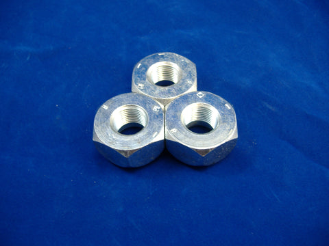 LEFT HAND LUG NUT FOR FRONT WHEEL OR SINGLE WHEEL, SET OF THREE, M37-M35-M54-M809-M939 MS51983-1