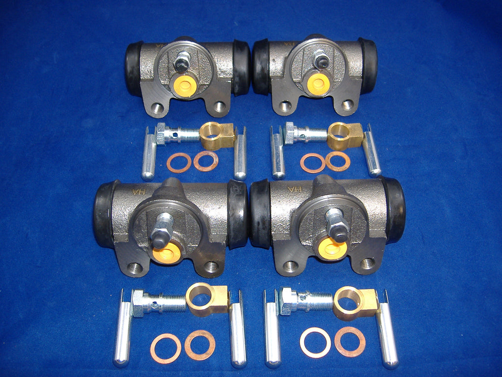 M35A2 WHEEL CYLINDER SET OF FOUR # 7348976 NSN 2530002744511