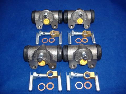 FOUR WHEEL CYLINDERS FOR M35A2 - M35A3 7348976