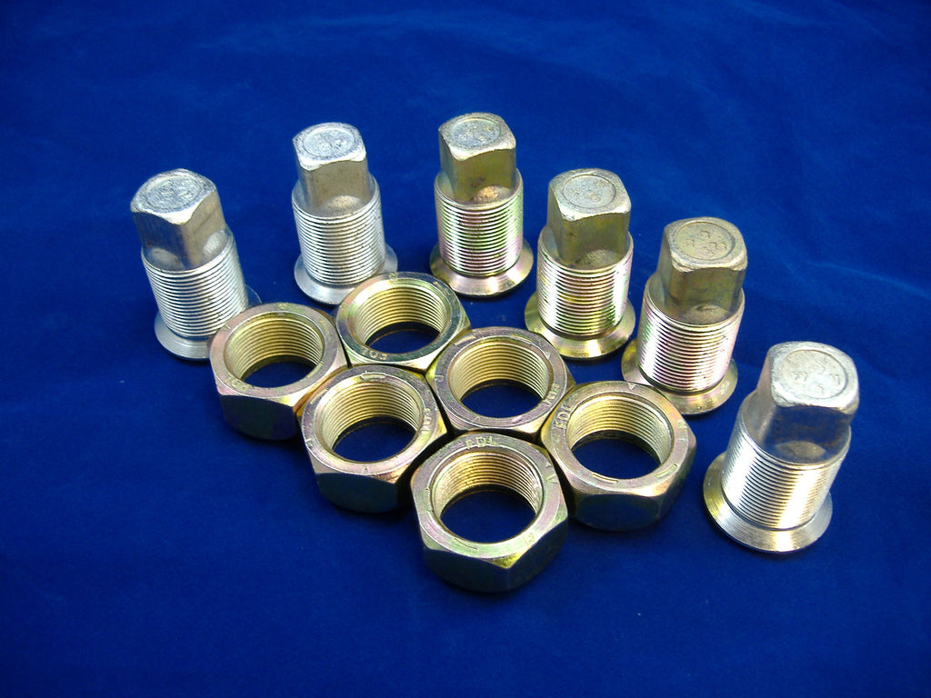 M35A2 LUG NUTS, ROCKWELL AXLES, MILITARY TRUCK LUG NUTS, ROCKWELL 2.5 TON, # MS53068-2