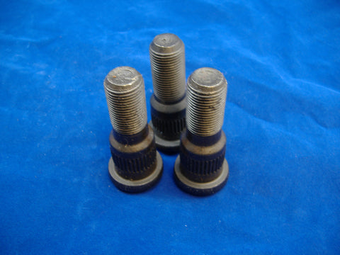 RIGHT HAND WHEEL STUD FOR 2.5 TON, SET OF THREE, M35A1 - M35A2 - M35A3 10896719-2