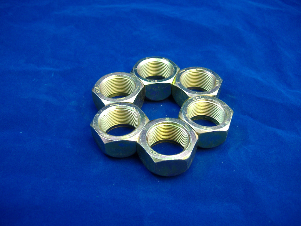 M35A2 LUG NUTS, ROCKWELL AXLES, MILITARY TRUCK LUG NUTS, ROCKWELL 2.5 TON, # MS51983-4