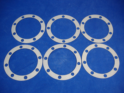 AXLE FLANGE HUB GASKET, SET OF SIX, FOR 2.5 TON M35A2 – M35A3 7521787